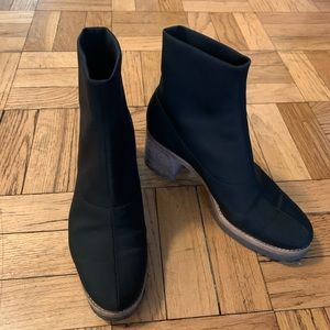 Clarks Nadia Sock Style Ankle Boot